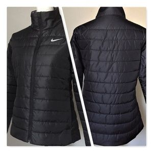 NIKE Jacket Women's Sportswear Black М Size